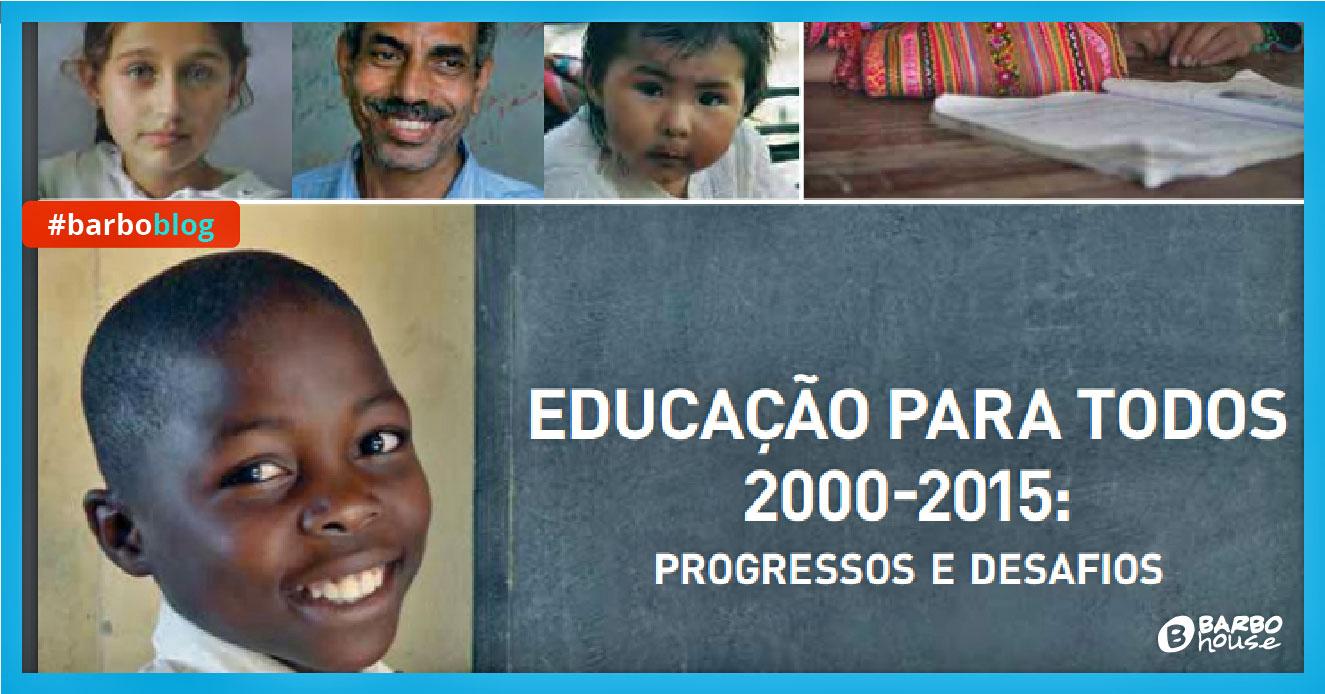 Educação no mundo resultados da Unesco